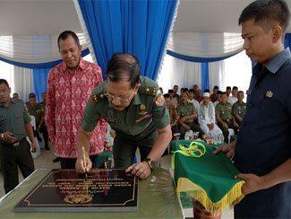 Dirtopad Resmikan Masjid di Perumahan Dinas Jati Ranggon