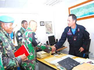 Dansatgas POM TNI Dan Force Provost Marshall Bahas Counter Alcohol Abuse Campaign