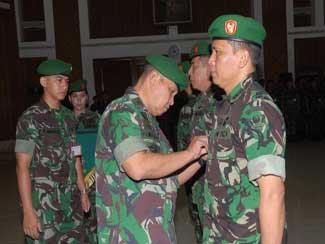 Laporan Korps Masuk Dan Pindah Satuan Di Seskoad