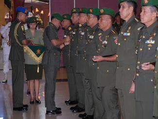 Sertijab Danpussenif, Sekretaris, Danpusdikzi Dan Danpusdikkum Kodiklat TNI AD