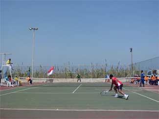 Sempu Perkuat Kontingen Garuda Dalam Meraih Gelar Juara Lawn Tennis