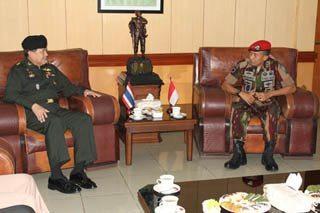 Kunjungan Panglima Tentara Kerajaan Thailand