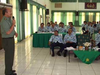 Korpri TNI Gelar Raker Dan Konsolidasi