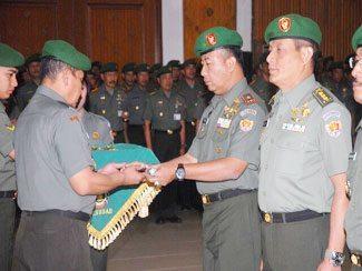 Serah Terima Jabatan Dan Laporan Korps Perwira Seskoad