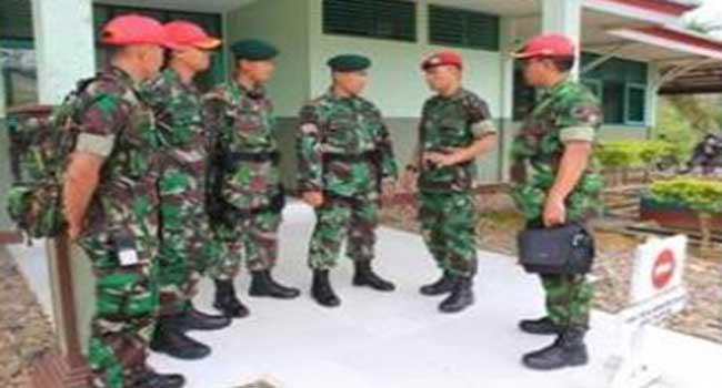 Pakorwil Kalbar-Kalteng Silaturahmi  Dengan Satgas Yonif Linud  305 Kostrad