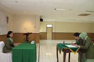 Pergantian Pengurus Persit KCK PCBS Kopassus