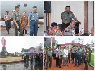 Panglima TNI Cek Persiapan Sambut Kedatangan Presiden RI Di Maluku