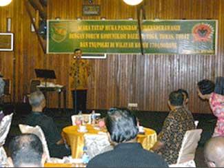 Pertemuan Pangdam XVII/Cenderawasih Dengan Muspida Kota Dan Kabupaten Sorong.