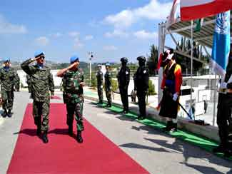 Komandan Indobatt Kunjungi Kontingen Korea