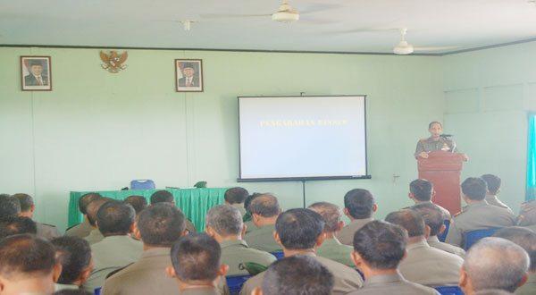 Kodim 1202/Singkawang Terima Kunjungan Kerja Komandan Korem 121/Abw