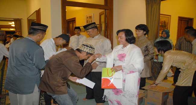 Abituren Akmil 82 Mempererat Silaturahmi di Bulan Ramadhan