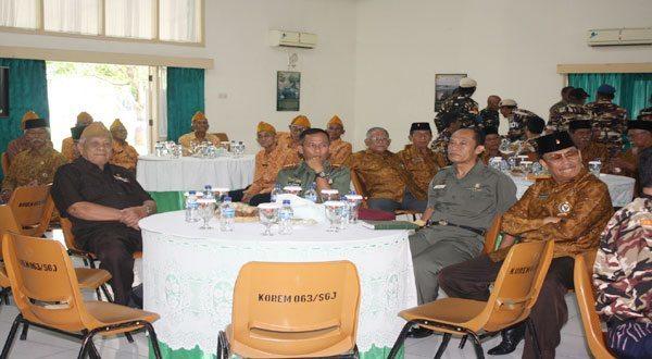 Danrem 063/SGJ mengadakan Acara Silahturahmi dan Buka Puasa Bersama Keluarga Besar TNI