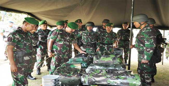 Pangdam : Prajurit Harus Mmiliki Prinsip Tentara Adalah Tentara