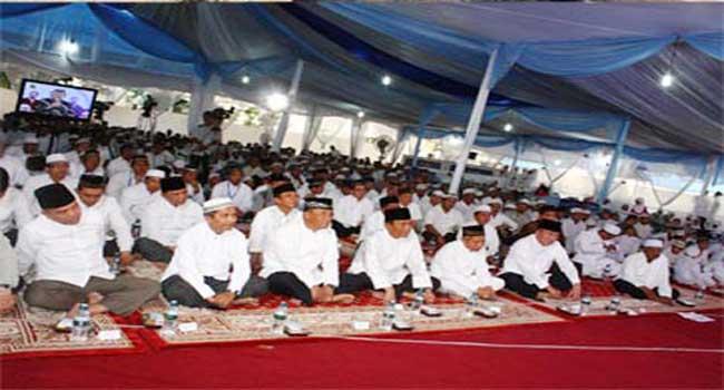 Pangdam VI/Mlw Safari Ramadhan di Wilayah Korem 101/Ant.
