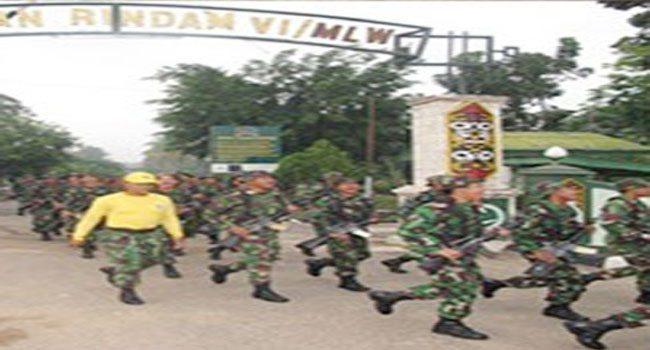 Minggu Militer: Hari Ke Dua, Rindam Vi/Mlw Disegarkan Dengan Hanmars