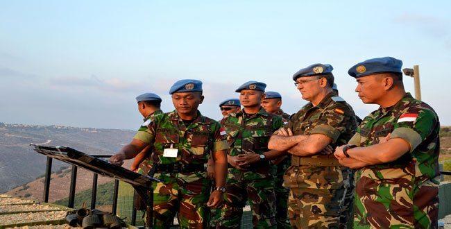 Komandan Sektor Timur UNIFIL Baru, Kunjungi Area Operasi Indobatt