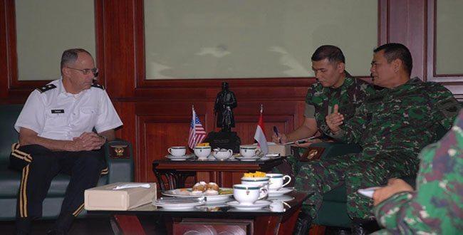 Wakasad Terima Kunjungan Kehormatan USASAC