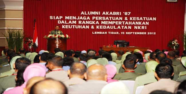 Reuni Dan Pengarahan Wakasad Abituren Akabri '87' Di Akmil