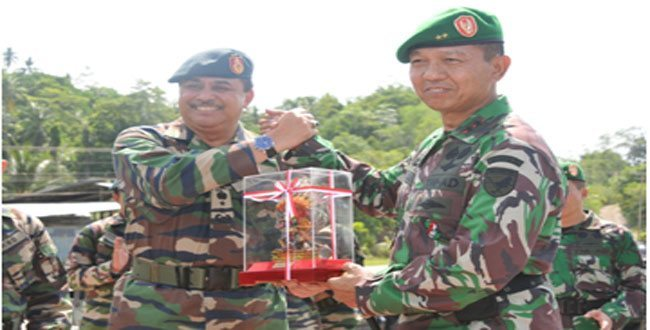 Latihan Bersama KKM 36-B Berakhir dengan Serangan Batalyon