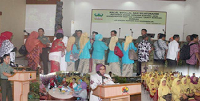 Halal Bihalal Kelurga Besar Yayasan Kartika Jaya Korem 032/Wirabraja