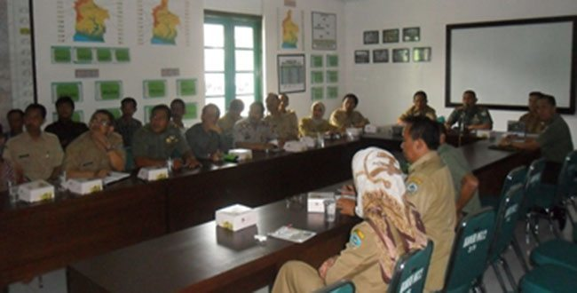 Rapat Koordinasi Bhakti Siliwangi Manunggal Satata Sariksa Tingkat Kota Tasikmalaya