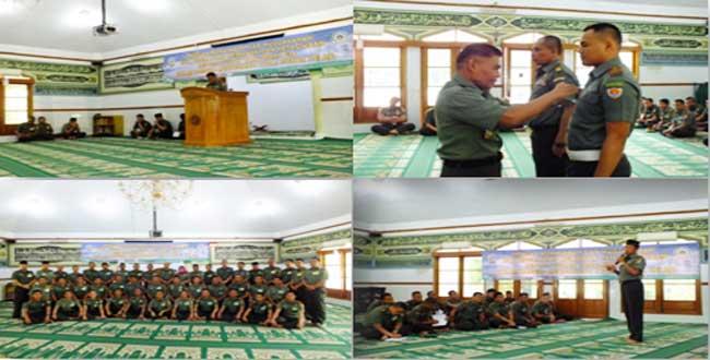 Kegiatan Muhasabah Dan Mudzakarah Danton/Danki Jajaran TNI AD