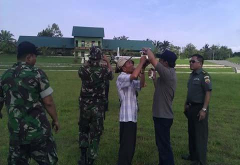Dittopad Melaksanakan Pemotretan Udara Daerah Latihan Kodam I / Bukit Barisan