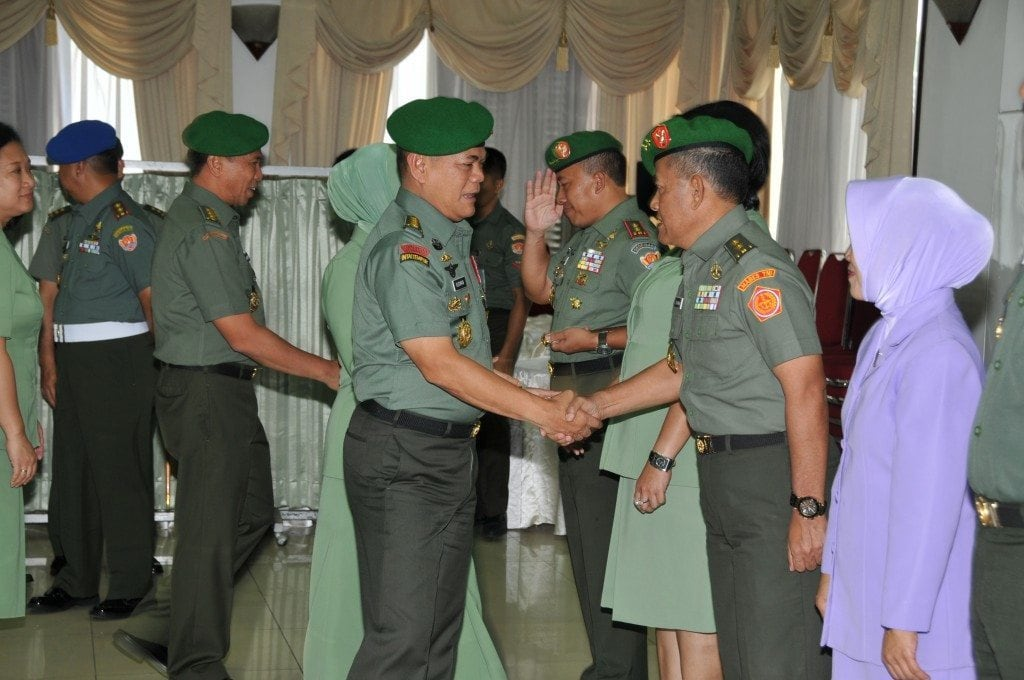 13 PATI TNI AD NAIK PANGKAT
