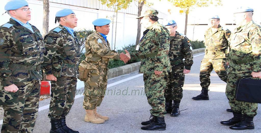 Pasukan Serbia dan Pasukan Kontingen Garuda