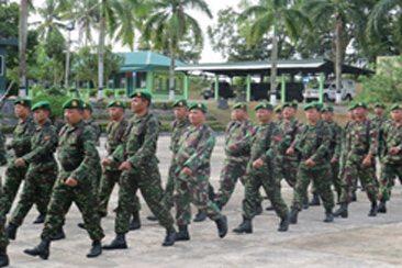 Kegiatan Minggu Militer Kodim 0315/Bintan