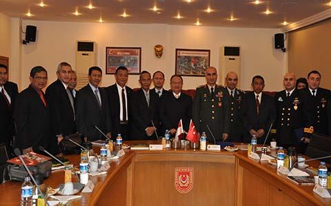 Kunjungan Kerja Dirtopad ke Negara Federasi Rusia dan Turki