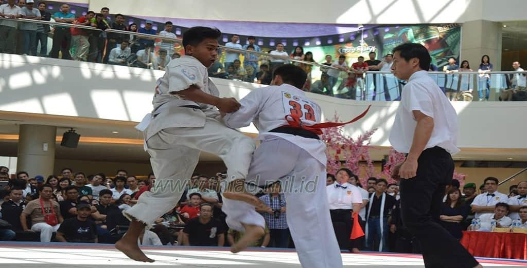 Kejurnas Karate Yang Pertama Full Body Contact (Piala Pangkostrad)