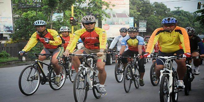 galakan sepeda