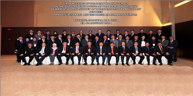 Joint Working Group For Outstanding Boundary Problems Ke-6 Batas Darat RI-Malaysia