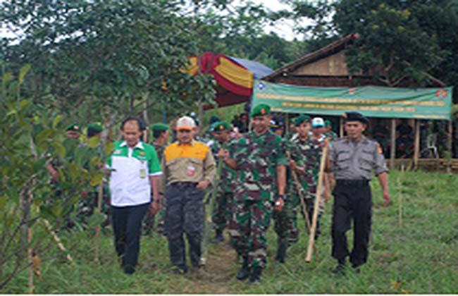 launching 100ribu pohon
