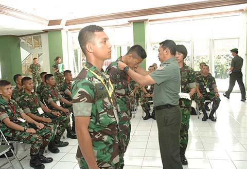 Pembukaan Latihan Terpusat Orienteering TNI AD TA.2013