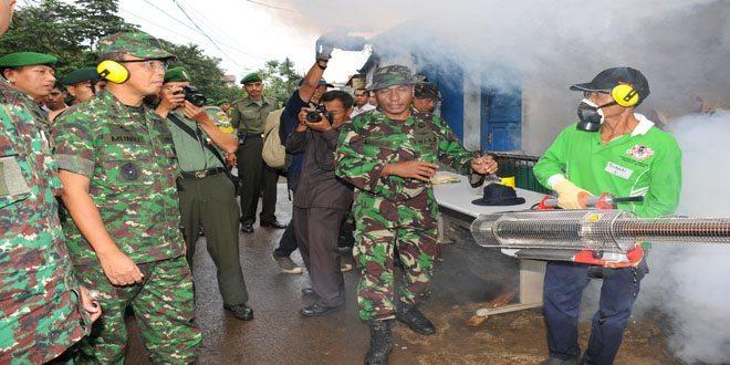 Fogging dan Karya Bakti Serentak, Kontinuitas Kepedulian TNI AD
