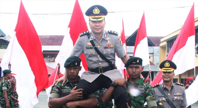 Soliditas TNI-Polri di Wilayah Jayapura