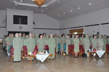 Pertemuan Gabungan Persit KCK PD Jaya