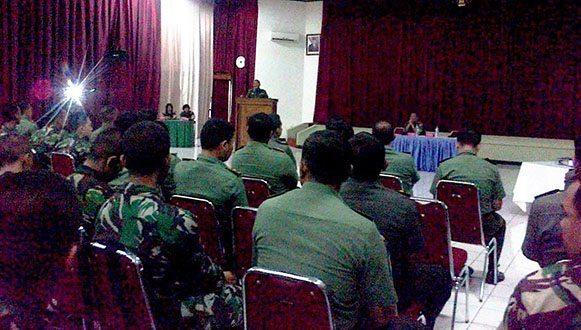 Antisipasi Netralitas TNI AD Dalam Pemilu 2014 Dittopad Gelar Penyuluhan Hukum