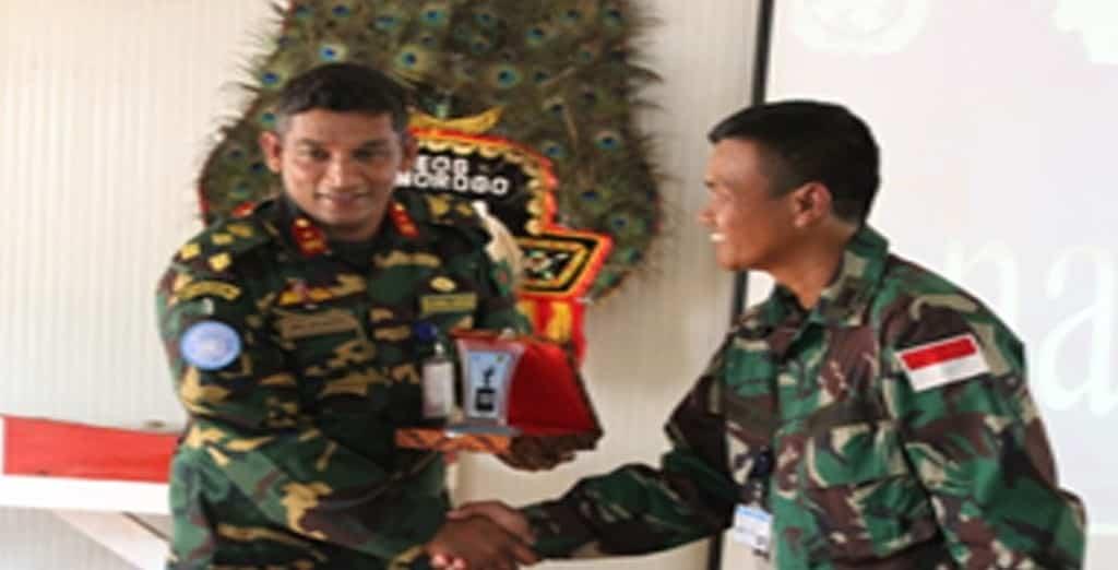Komandan Brigade Ituri kunjungi Kontingen Garuda XX-K/MONUSCO