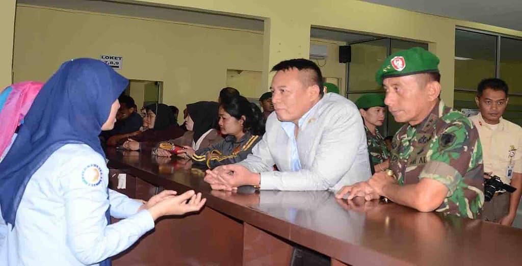 Komisi I DPR RI Kunjungi Rumkit Dustira Kesdam III/Siliwangi.