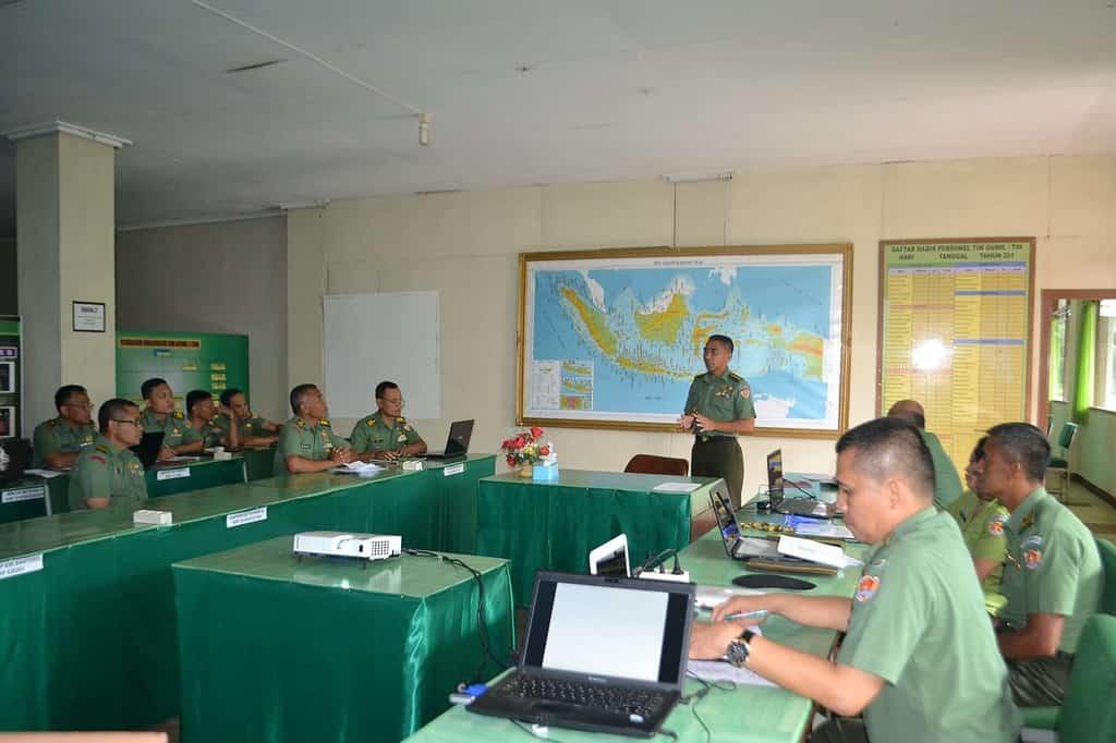 Uji Kompetensi para Guru Militer