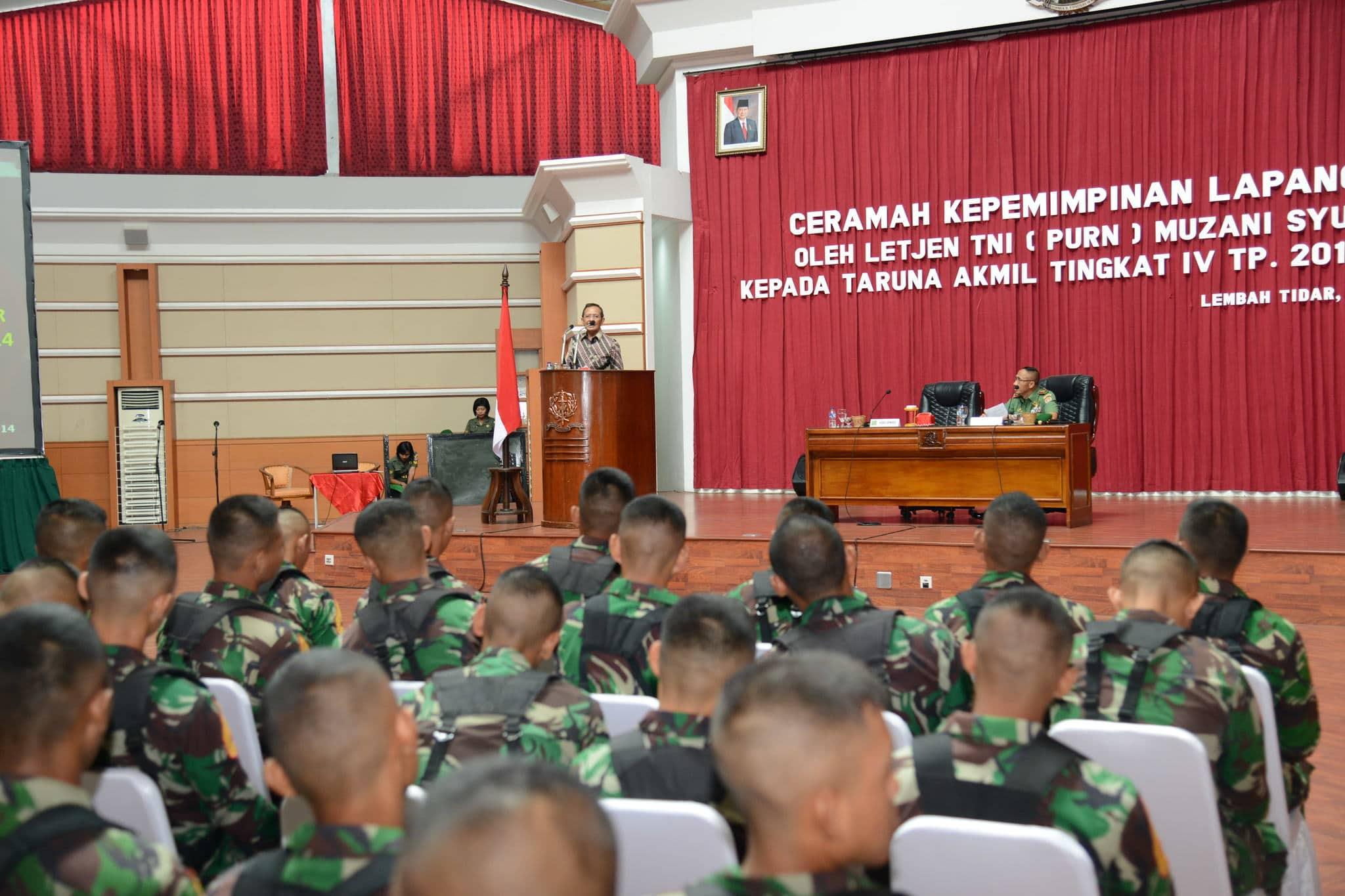 KEPEMIMPINAN TNI HARUS DIJIWAI SAPTA MARGA DAN SUMPAH PRAJURIT