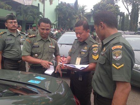 Apel Kendaraan Dinas Denma Kodam Jaya