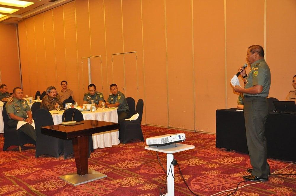Kodam II/Swj bekerja sama dengan PT. Bukit Asam, melakukan rehabilitas Daerah Aliran Sungai (DAS)