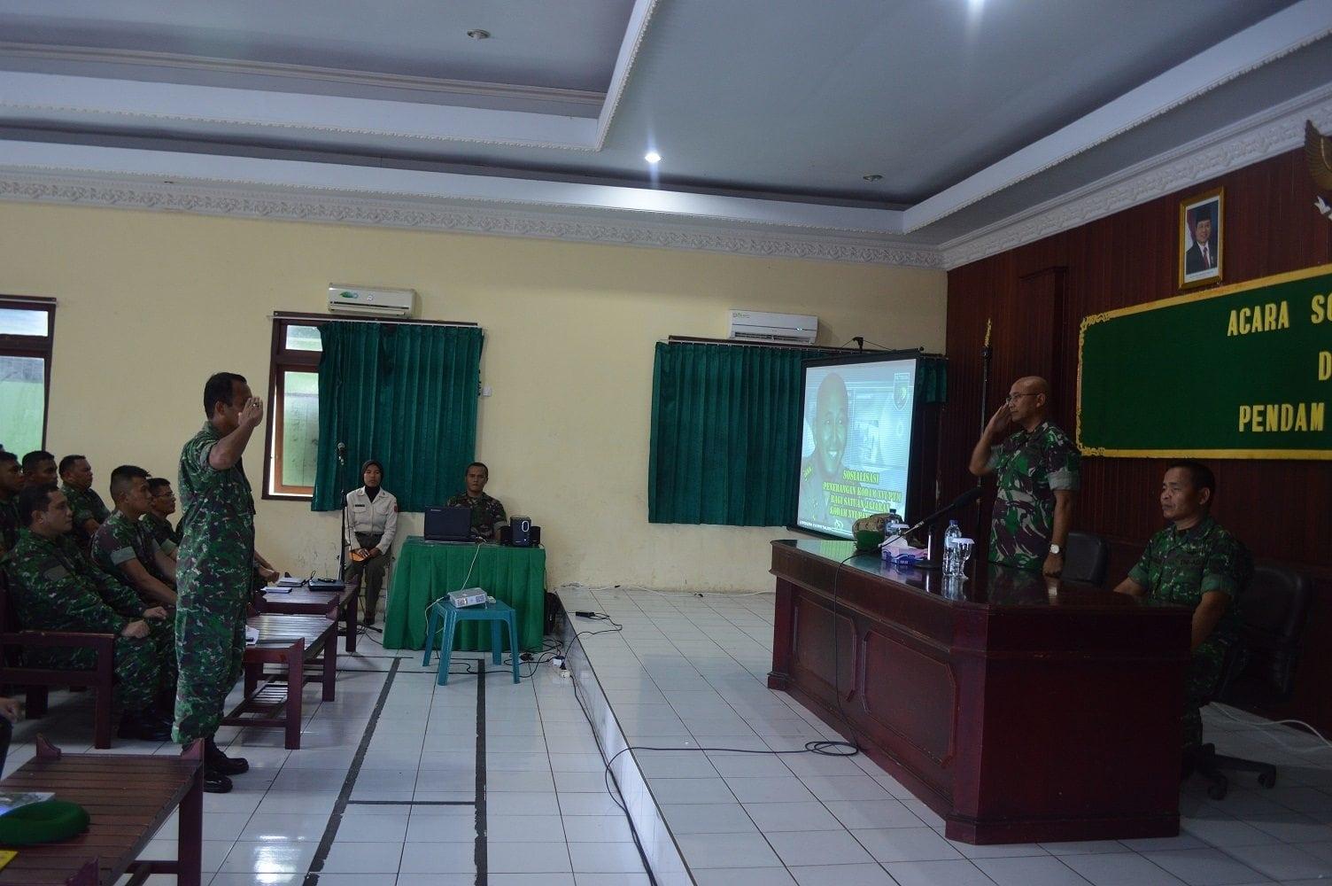 SOSIALISASI PENERANGAN KODAM XVI/PATTIMURA DIWILAYAH KOREM 152/BABULLAH