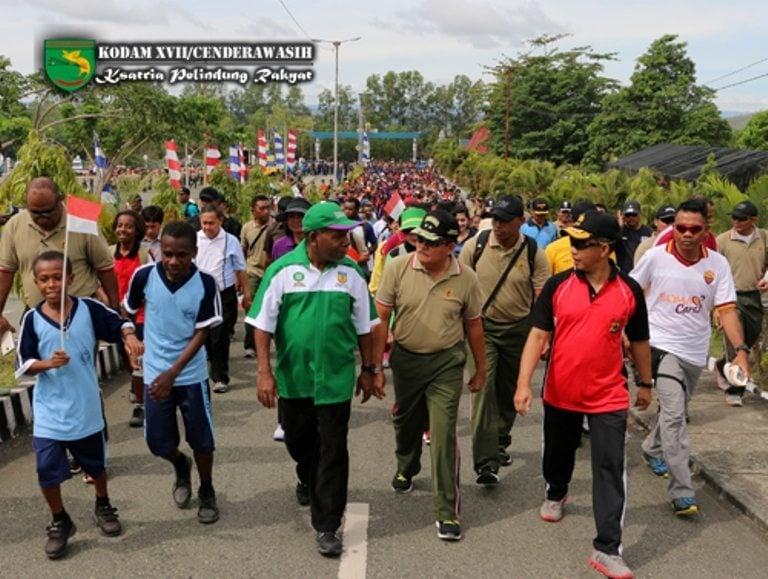 Gerak jalan Santai Menjelang Pesta Demokrasi dan Hari Air Sedunia