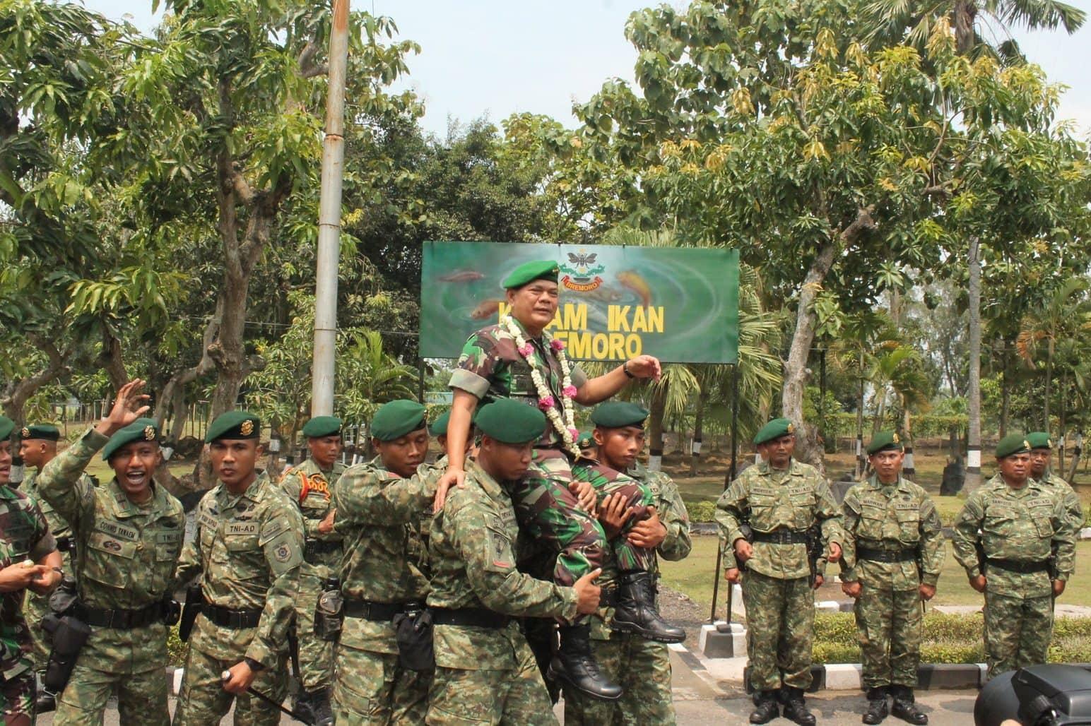 KASAD JENDERAL TNI BUDIMAN KUNJUNGI YONIF 413 KOSTRAD