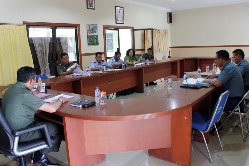 Rapat Evaluasi & Supervisi Perumusan Kebijakan Penerimaan Prajurit TNI Di Kodim 0316/Batam